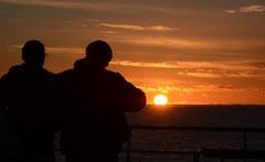 selten schöner patagonischer Sunset
