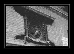Pfauenfenster am Pujahari Math, Bhaktapur