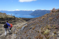 Wanderung zum Volcán Osorno, Petrohue, Chile