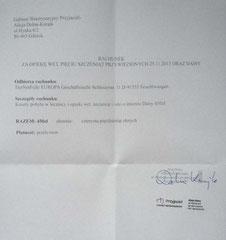 Rg. TA Alicja Dolna Kurajk 450 Zloty