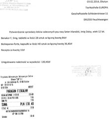 Rg. TA Lew-Kojrys 130,40 Zloty
