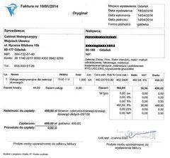 Rg. TA Joanna Edel 499 Zloty - 14.04.2014