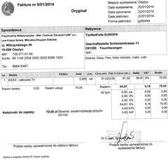 Rg. TA Lew-Kojrys 70 Zloty