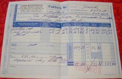 10 Rg. 16 Tollwut-Impfungen a' 5 Euro=80€ + Erschwerniszulage 28,50€ = 108,50 Euro (434 Zloty)