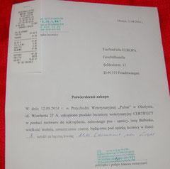 8 Rg. TA Pulsar 81 Zloty Medikament - 12.08.14