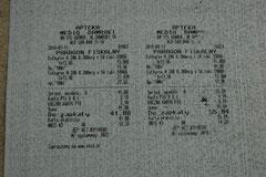 Euthyrox Medikamente 41 +55 zl. = 97,72 zl.