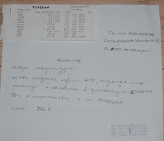 Rg. 2 v. 09.10.14 TA Joanna Rozbicka - Hündin Pchelka - Verletzung durch Fangfalle