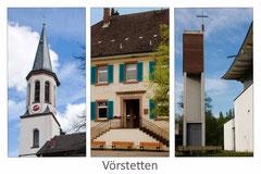 Bildnr. 343 / ev. Kirche, Rathaus, kath. Kirche