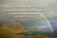Bildnr. 4 / Regenbogen, Schottland, Neist Point