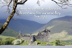 Bildnr. 7 / Schottland, Kilchurn Castle