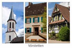 Bildnr. 342 / ev. Kirche, Rathaus, Fachwerkhaus