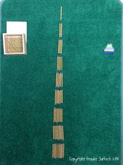 Zahlenbaum und Perlentreppe