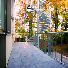 Trierer Straße: Anbau Fluchttreppe und Balkon