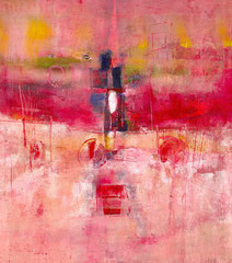 """""""Spiraglio magico"""", 2012  Tecnica mista, 81 x 90 cm"""