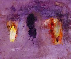 """""""Ritmi e natura"""", 2011  Tecnica mista, 55 x 42 cm"""