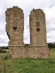 The ruins of Halesowen Abbey of the Blessed Virgin Mary & St John the Evangelist