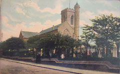 St Saviour's 1920 viewed from the north-west. Postcard courtesy of Mac Joseph of Ladywood Past & Present - http://www.oldladywood.co.uk