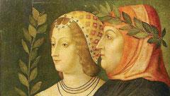 Pétrarque et Laure de Sade
