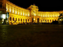Hofburg la nuit