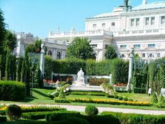 Vienne, Jardins de la Hofburg