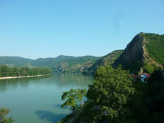 Danube entre Bratislava et Linz