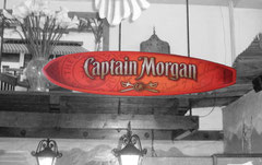 9' Captain Morgan Surfboard