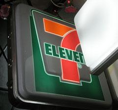 7 Eleven Light Sign