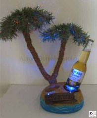 Corona Palm Tree Backbar with LED