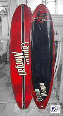 7' Captain Morgan Surfboard