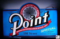 Point Clock Light Box