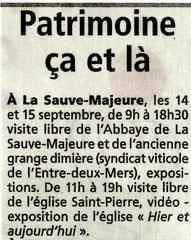 Le Résistant 12 septembre 2014