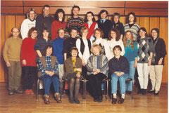 Kollegium GS Eschershausen Anfang der 90er Jahre