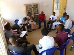 Bible Study in our Discipleship School