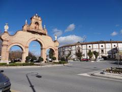 Tor und Arena von Antequera