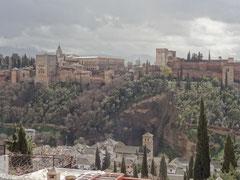 Blick z. Alhambra