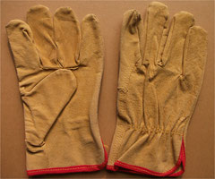 L1135 (Split Pigskin Leather Driver Gloves)