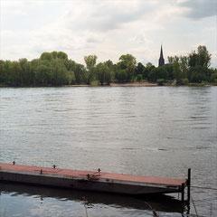 Rhein (2012) - Fähre Köln-Weiss