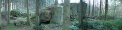 Panorama einer Bunkeranlage
