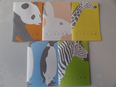 色・柄は5種類から選べます