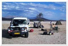 Bivouac Damaraland - Bruno Deveze Namibie ©
