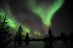 © Raquettes Bruno Deveze Laponie finlandaise