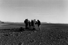 Tam - Djanet 620 km à pied © Bruno Deveze