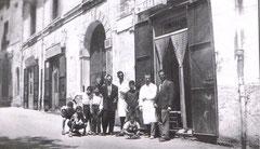 Inizio Via Tricarico(Salone Montillo- inizio anni '50)