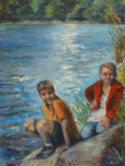 Summerdays Nr.3 ,60x80cm