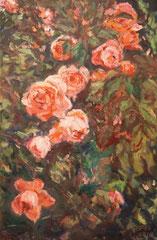 Roses Nr.3, Öl_lwd.40x60cm