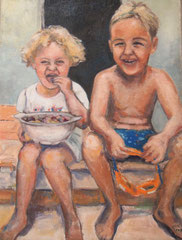 """Summerdays Nr. 5 ,"""" Fresh Figs """"        60x80cm"""