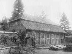 Juni: Die Orangerie im Schlossgarten im Jahre 1933