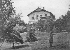 Februar: Waltershorst an der Plöner Straße in Neudorf im Jahre 1905