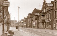 März: Die Lübecker Straße in den 1920er Jahren