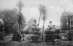 April: Der Eutiner Schlossgarten im Jahr 1907